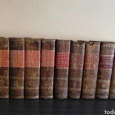 Diccionarios antiguos: 1831 - DICCIONARIO GEOGRÁFICO UNIVERSAL - 10 TOMOS - IMPRENTA JOSÉ TORNER BARCELONA. Lote 276698093