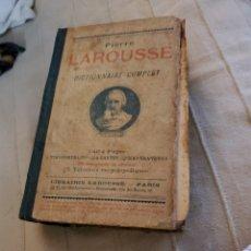 Diccionarios antiguos: DICCIONARIO ANTIGUO FRANCÉS AÑO 1897. Lote 277238378