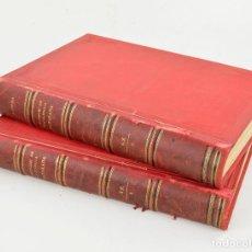 Diccionarios antiguos: DICCIONARI DE LA LLENGUA CATALANA, 2 TOMOS, PERE LABERNIA, ESPASA Y COMPANYIA EDITORS, BARCELONA.. Lote 277447953