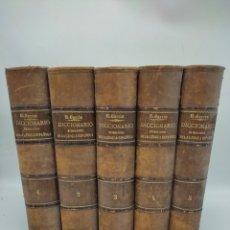 Diccionarios antiguos: DICCIONARIO GENERAL ETIMOLÓGICO LENGUA ESPAÑOLA POR ROQUE BARCIA AÑO 1880. Lote 285426258
