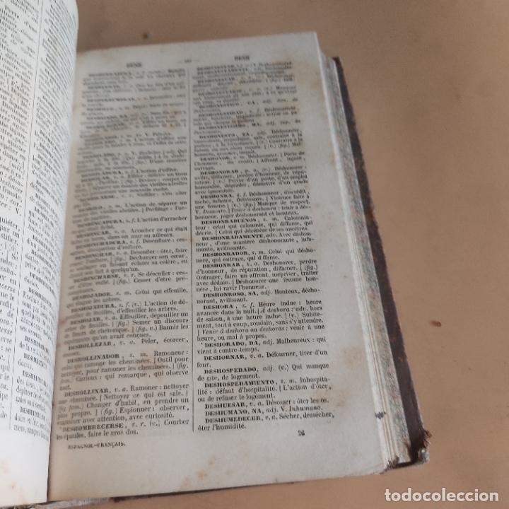 Diccionarios antiguos: DICCIONARIO FRANCES-ESPAÑOL. NUÑEZ DE TABOADA. 2 TOMOS. 1859. CASA DE REY Y BELHATTE. 920-1156 PAGS. - Foto 5 - 286736858
