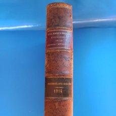 Diccionarios antiguos: DICCIONARIO DE LA LENGUA CASTELLANA DE LA REAL ACADEMIA ESPAÑOLA DE 1914 DECIMOCUARTA EDICIÓN. Lote 286810783