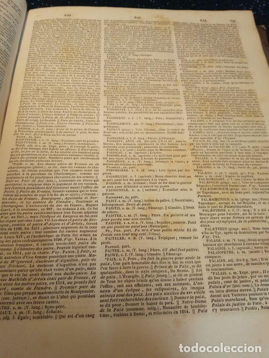 Diccionarios antiguos: 1-Dictionnaire De L´académie Française 2-Complément du Dictionnaire De L´académie Française - Foto 2 - 288511048
