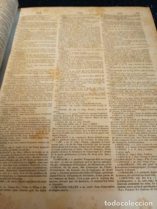 Diccionarios antiguos: 1-Dictionnaire De L´académie Française 2-Complément du Dictionnaire De L´académie Française - Foto 3 - 288511048
