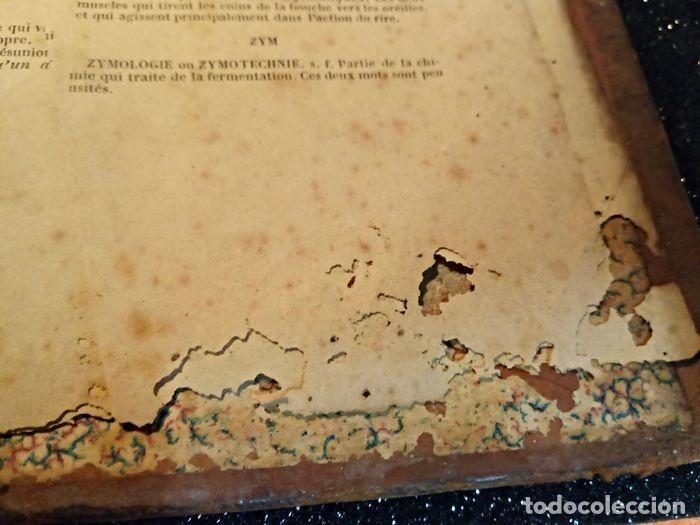 Diccionarios antiguos: 1-Dictionnaire De L´académie Française 2-Complément du Dictionnaire De L´académie Française - Foto 6 - 288511048
