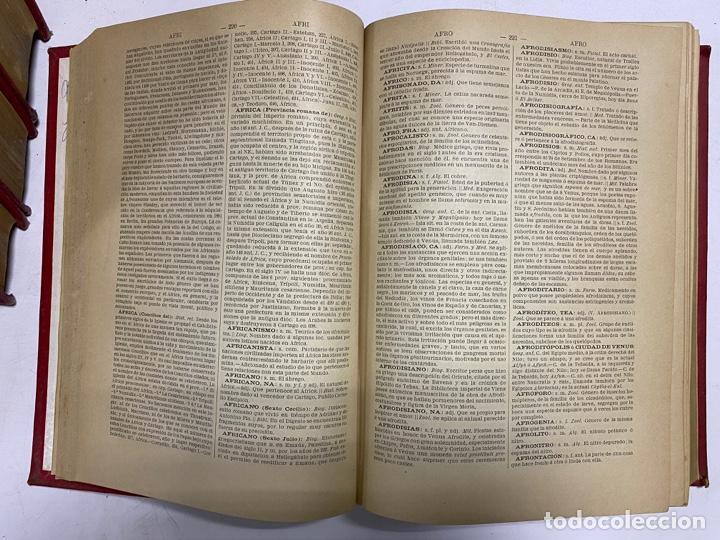 Diccionarios antiguos: DICCIONARIO POPULAR UNIVERSAL DE LA LENGUA ESPAÑOLA. 6 TOMOS. LUIS P. DE RAMÓN. BARCELONA, 1896. - Foto 4 - 288911268