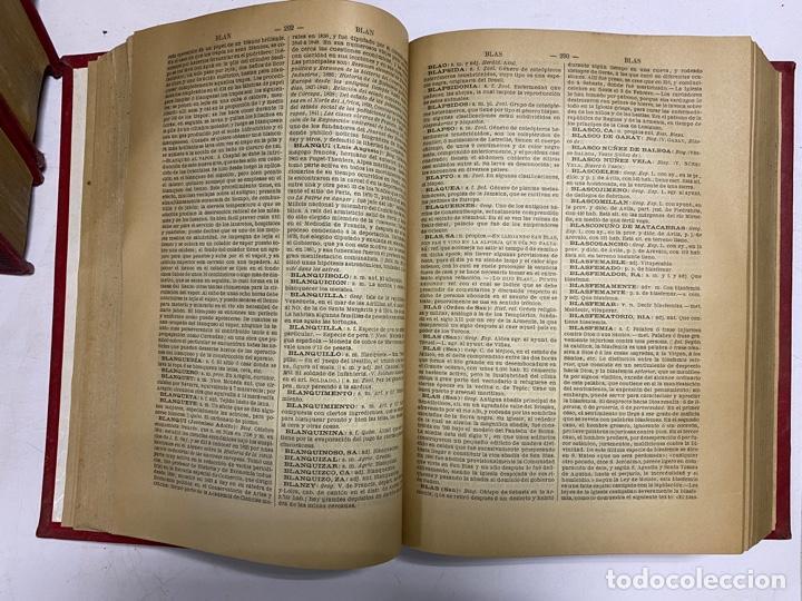 Diccionarios antiguos: DICCIONARIO POPULAR UNIVERSAL DE LA LENGUA ESPAÑOLA. 6 TOMOS. LUIS P. DE RAMÓN. BARCELONA, 1896. - Foto 8 - 288911268