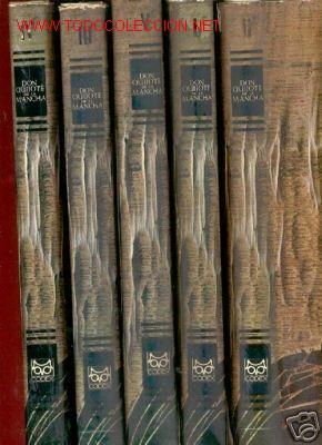 EL INGENIOSO HIDALGO DON QUIJOTE DE LA MANCHA. 5 TOMOS (Libros Nuevos - Diccionarios y Enciclopedias - Diccionarios)