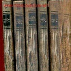 Diccionarios: EL INGENIOSO HIDALGO DON QUIJOTE DE LA MANCHA. 5 TOMOS. Lote 26882238