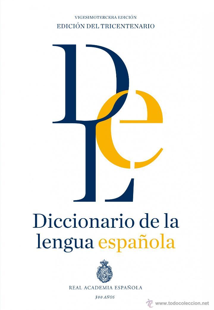 DICCIONARIOS. DICCIONARIO DE LA LENGUA ESPAÑOLA - REAL ACADEMIA ESPAÑOLA (CARTONÉ) (Libros Nuevos - Diccionarios y Enciclopedias - Diccionarios)