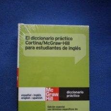Diccionarios: DICCIONARIO PRACTICO CORTINA ; ESP-INGL; INGL-ESP. NUEVO A ESTRENAR. Lote 52501545