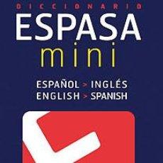 Diccionarios: DICCIONARIO MINI INGLÉS ESPASACALPE, S.A.. Lote 70806773