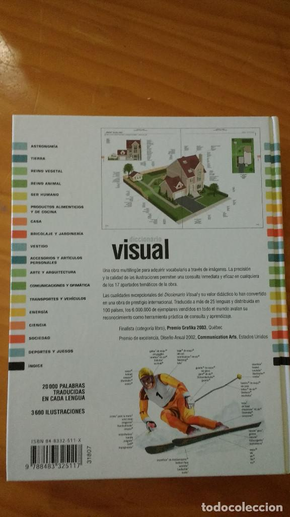 Diccionarios: DICCIONARIO VISUAL LAROUSSE multilingüe(CORBEIL Y ARCHAMBAULT)(SPES EDIT. - 2005)+650 pág.-TAPA DURA - Foto 3 - 74433699