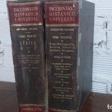 Diccionarios: DICCIONARIO HISPANICO UNIVERSAL. Lote 79631349