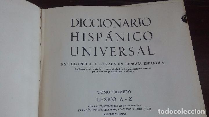 Diccionarios: Diccionario Hispanico Universal - Foto 12 - 79631349