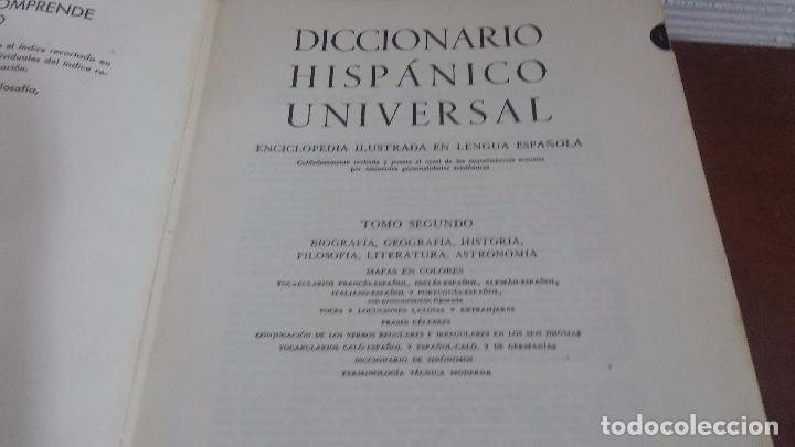 Diccionarios: Diccionario Hispanico Universal - Foto 22 - 79631349