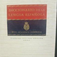 Diccionarios: DICCIONARIO DE LA REAL ACADEMIA DE LA LENGUA ESPAÑOLA. VIGESIMA SEGUNDA EDICIÓN. 2 TOMOS. Lote 82302236