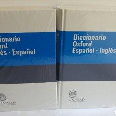 Diccionarios: 2 DICCIONARIOS OXFORD ESPAÑOL-INGLES E INGLES-ESPAÑOL NUEVOS. Lote 84588215