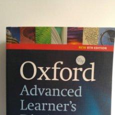 Diccionarios: DICCIONARIO OXFORD ADVANCED LEARNER'S DICTIONARY. Lote 84594942