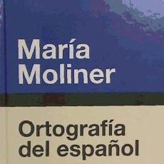 Diccionarios: ORTOGRAFIA ESPAÑOLA. GREDOS. Lote 95317978