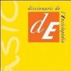 Diccionarios: DICCIONARI BÀSIC DE LA LLENGUA CATALANA ENCICLOPEDIA CATALANA, SAU. Lote 98597728
