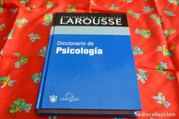 DICCIONARIO DE PSICOLOGÍA LAROUSSE (Libros Nuevos - Diccionarios y Enciclopedias - Diccionarios)