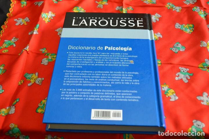 Diccionarios: Diccionario de Psicología Larousse - Foto 2 - 103836607