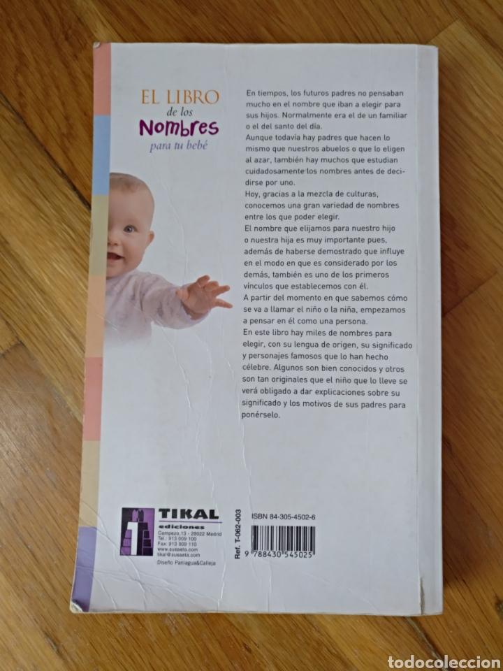 Diccionarios: El libro de los nombres para tu bebé.Tikal.Misa Shaw.Susaeta.Impreso EEUU - Foto 2 - 112394512
