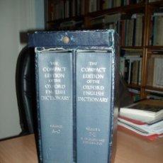 Diccionarios: OXFORD ENGLISH DICTIONARY. Lote 114782051