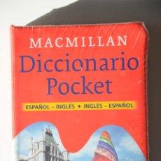 Diccionarios: DICCIONARIO BOLSILLO POCKET MACMILLAN ESPAÑOL INGLES CON CD ROM. NUEVO Y PRECINTADO.. Lote 116244831