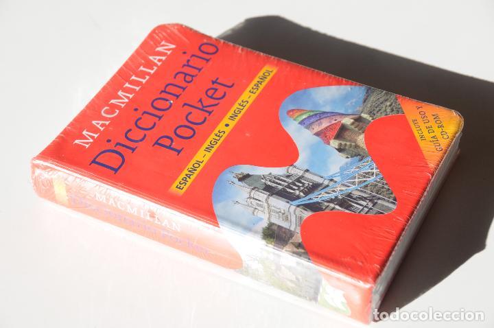 Diccionarios: DICCIONARIO BOLSILLO POCKET MACMILLAN ESPAÑOL INGLES CON CD ROM. NUEVO Y PRECINTADO. - Foto 2 - 116244831