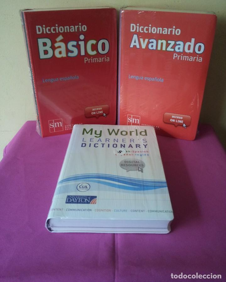 DICCIONARIO DE PRIMARIA LENGUA ESPAÑOLA - BASICO, AVANZADO Y MY WORLD LEARNER'S - EDICIONES SM 2012 (Libros Nuevos - Diccionarios y Enciclopedias - Diccionarios)