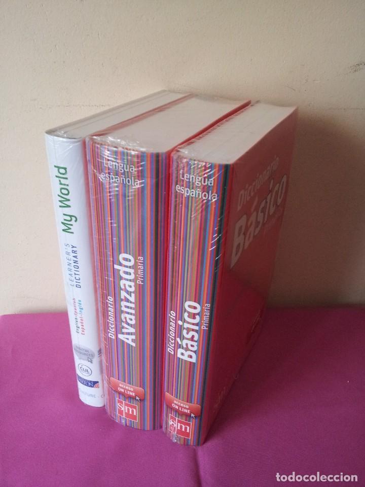 Diccionarios: DICCIONARIO DE PRIMARIA LENGUA ESPAÑOLA - BASICO, AVANZADO Y MY WORLD LEARNERS - EDICIONES SM 2012 - Foto 5 - 117652443