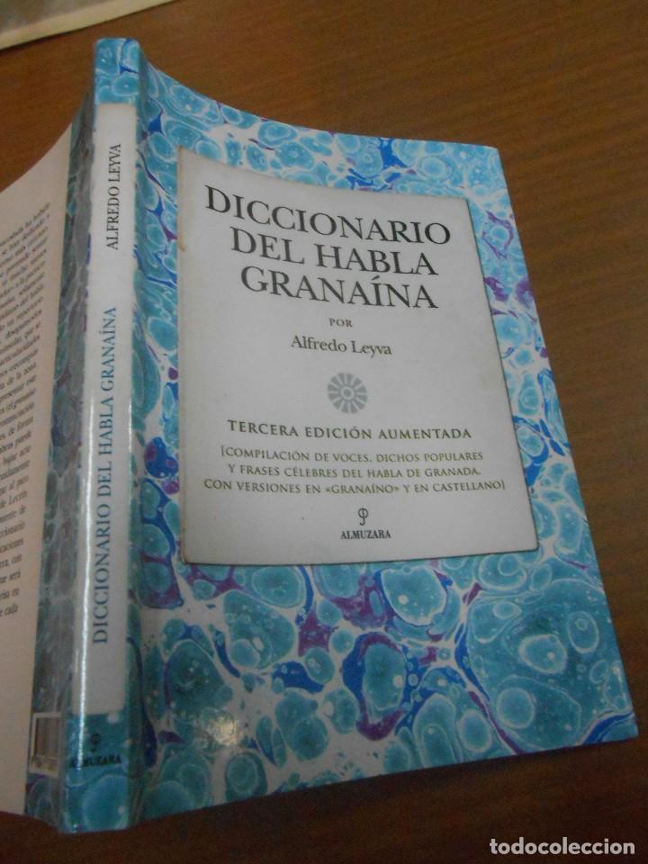 ALFREDO LEYVA DICCIONARIO DEL HABLA GRANAINA EDITORIAL ALMUZARA 2012 CORDOBA (Libros Nuevos - Diccionarios y Enciclopedias - Diccionarios)