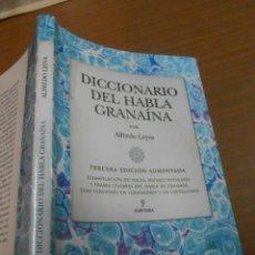 Diccionarios: ALFREDO LEYVA DICCIONARIO DEL HABLA GRANAINA EDITORIAL ALMUZARA 2012 CORDOBA. Lote 119426471