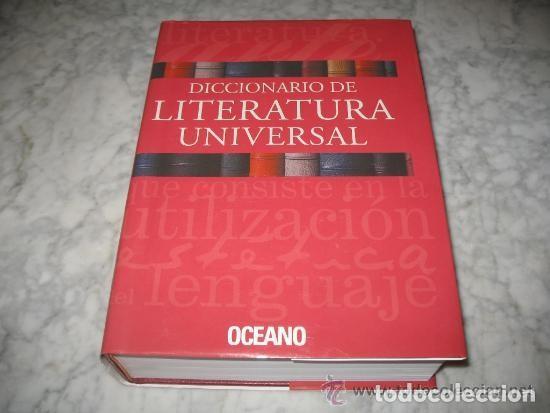 DICCIONARIO DE LITERATURA UNIVERSAL - ED.OCEANO + CD - AÑO 1984 (ILUST) (Libros Nuevos - Diccionarios y Enciclopedias - Diccionarios)