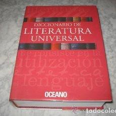 Diccionarios: DICCIONARIO DE LITERATURA UNIVERSAL - ED.OCEANO + CD - AÑO 1984 (ILUST). Lote 213675082