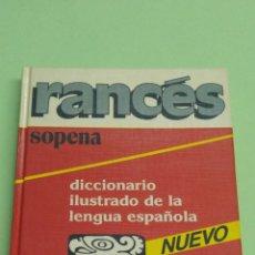 Diccionarios: DICCIONARIO ILUSTRADO DE LA LENGUA ESPAÑOLA SOPENA 1989 A ESTRENAR. Lote 122605590