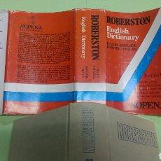 Diccionarios: DICCIONARIO ROBERSTON ESPAÑOL-INGLÉS. Lote 122609984