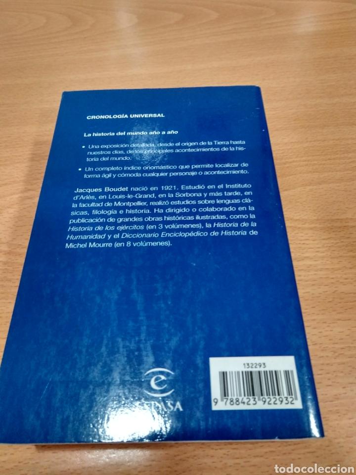 Diccionarios: Cronología universal espasa -jacques roudet- - Foto 4 - 124144454