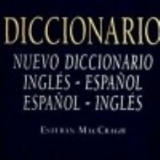 Diccionarios: NUEVO DICCIONARIO INGLÉS-ESPAÑOL Y ESPAÑOL-INGLÉS EDITORIAL JUVENTUD, S.A.. Lote 70892311