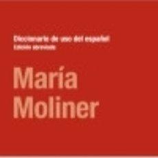 Diccionarios: DICCIONARIO DE USO ESPAÑOL. EDICIÓN ABREVIADA EDITORIAL GREDOS. Lote 82871552