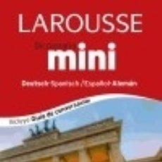 Diccionarios: DICCIONARIO MINI ESPAÑOL-ALEMÁN = DEUTSH-SPANISCH. Lote 91762282
