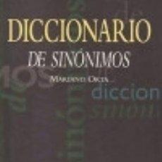 Diccionarios: DICCIONARIO DE SINON-JUV. EDITORIAL JUVENTUD, S.A.. Lote 70892067