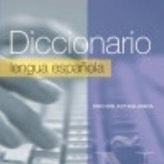 Diccionarios: DICCIONARIO ESCOLAR LENGUA ESPAÑOLA. Lote 70787953