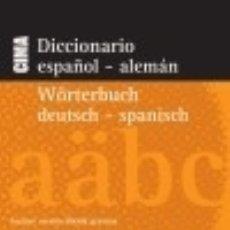 Diccionarios: DICCIONARIO NUEVO CIMA ESPAÑOL-ALEMÁN / ALEMÁN-ESPAÑOL EDITORIAL EVEREST. Lote 70832095