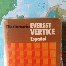 Diccionarios: DICCIONARIO DE ESPAÑOL, EVEREST, 1976. Lote 184427865