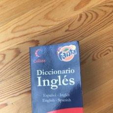 Diccionarios: DICCIONARIO INGLÉS DE COLLINS FANTA. Lote 130059768