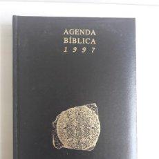 Diccionarios: AGENDA BÍBLICA AÑO 1997 VERBO DIVINO A ESTRENAR.. Lote 130767308