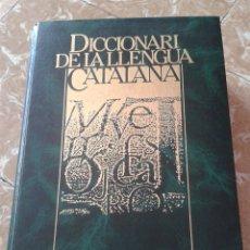 Diccionarios: DICCIONARI DE LA LLENGUA CATALANA 1984 ENCICLOPEDIA CATALANA. Lote 130843997